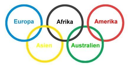 Olympische Ringe Farben