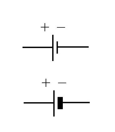 Berühmt Elektrische Symbol Batterie Galerie - Der Schaltplan ...